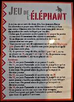 Jeu Mail Art Jo (jeu de l'éléphant)