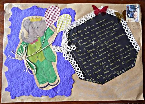 Mail art Carole
