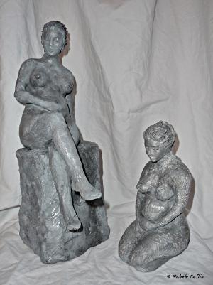 Femmes enceintes © Michèle Ruffin