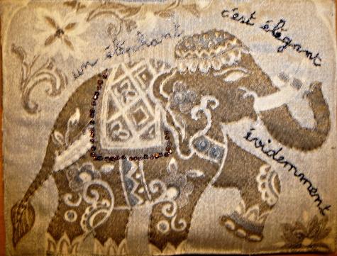Jeu Mail art  Mamitta (verso)