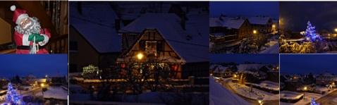 Noël la nuit Illkirch 2000