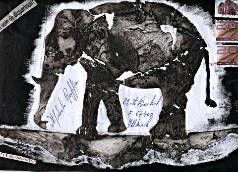 art postal Michel Roset - février 2011