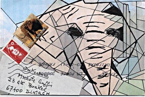 ART POSTAL Pascal C. de Chablis - fevrier 2011