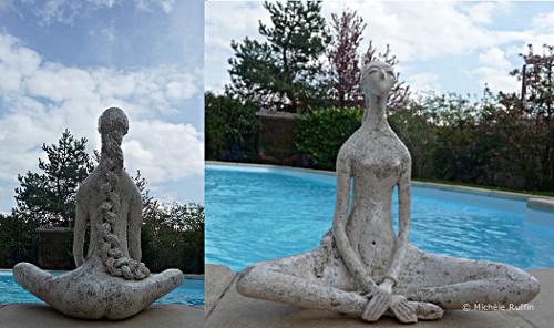 """sculpture """"Louise"""" © Michèle Ruffin"""
