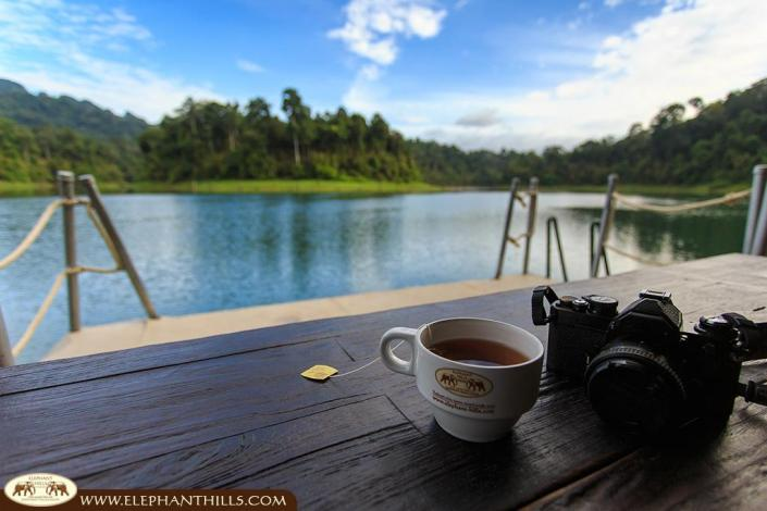 Relax and capture the moment with your camera