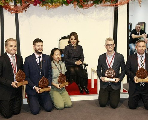 Elephant Hills got Thailand Green Excellence Awards for Animal Welfare and Eco Lodge 2017 at WTM event, London, United Kingdom