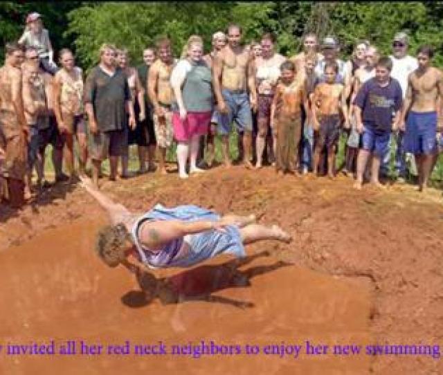 Rednecks New Swimming Pool Sent By Sally