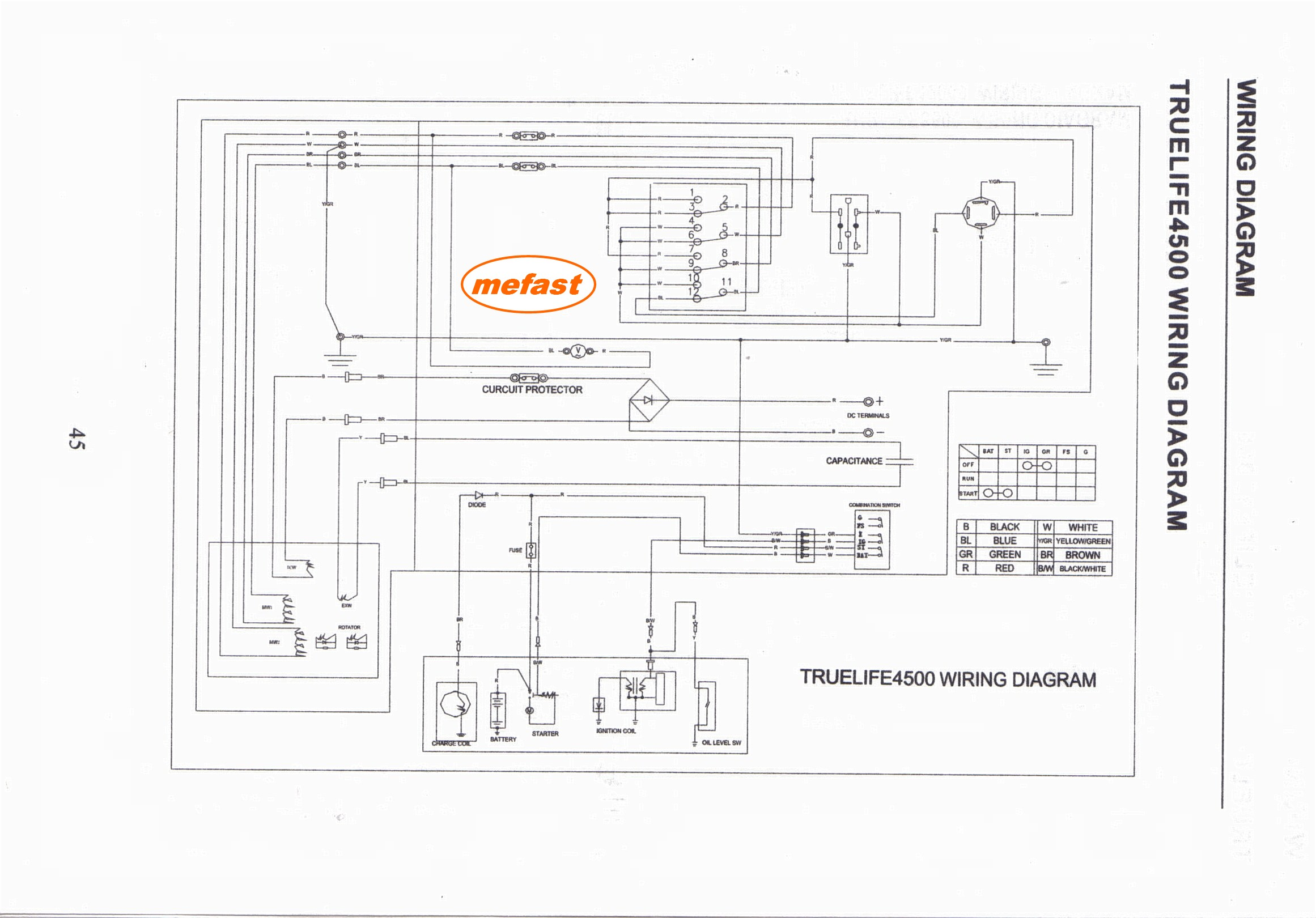 Hensim 70cc Atv Wiring Diagram
