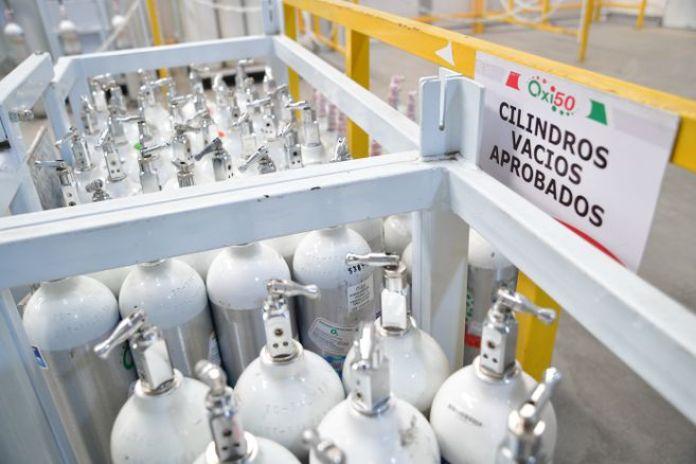 El Ministerio de Comercio publicó un decreto que quita el arancel para importar oxígeno hasta el 31 de mayo.