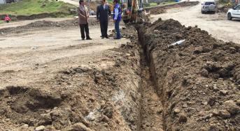 Construyen anillo vial en Uchupucún para mejorar tráfico de calle Ingapirca