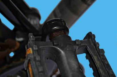 Come smontare i pedali ossidati sede chiave da 15
