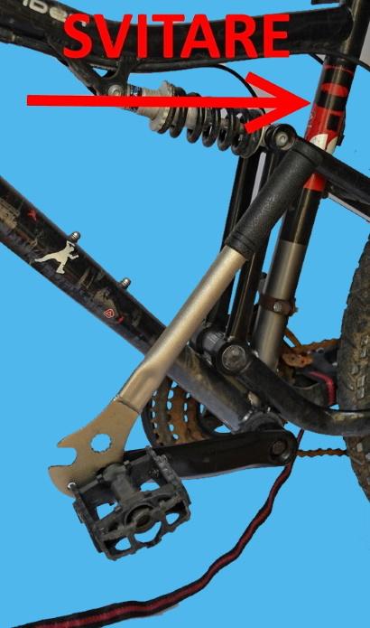 Come smontare i pedali ossidati verso per svitare