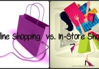 Online Vs. negozio