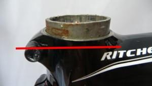 3512 Tagliare tubo forcella acciaio alluminio 08