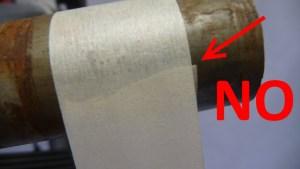 3529 Tagliare tubo forcella acciaio alluminio 25