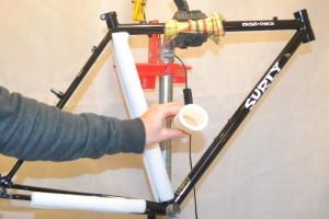5413 Montiamo la bici telaio Surly Cross Check 09