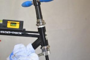 5515 Montiamo la bici serie sterzo trittico leve Surly Cross Check 54