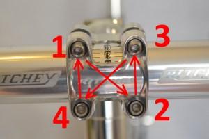 5574 Montiamo la bici serie sterzo trittico leve Surly Cross Check 113