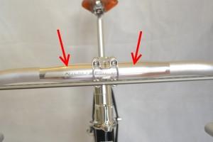5575 Montiamo la bici serie sterzo trittico leve Surly Cross Check 114