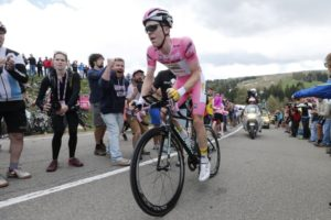 22 May 2016 99th Giro d'Italia Stage 15 : Castelrotto - Alpe di Siusi ITT 2nd : KRUIJSWIJK Steven (NED) Lotto NL - Jumbo, Maglia Rosa Photo : Yuzuru SUNADA