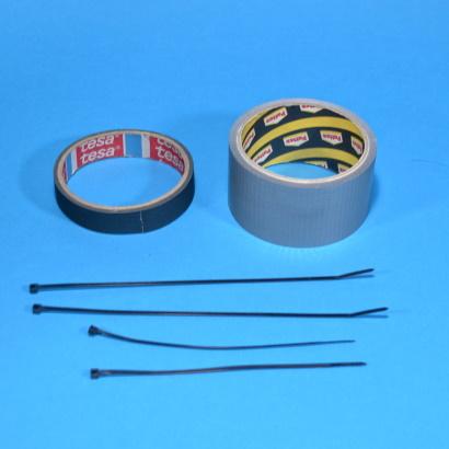 attrezzi generici bici nastro adesivo fascette
