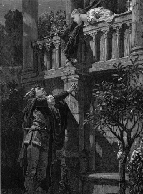 11. Romeo y Julieta, Dicksee, 1880s