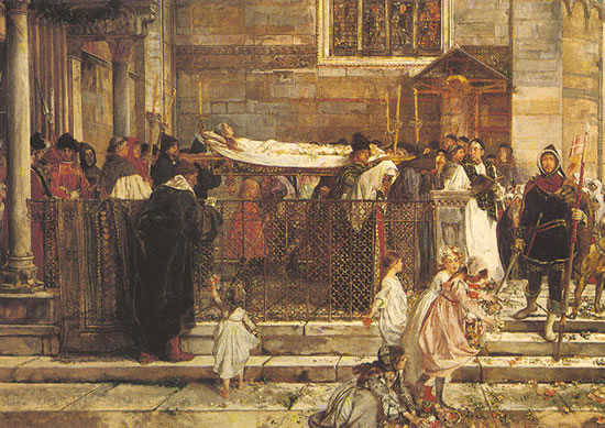 7. Los funerales de Julieta, Scipione Vannutelli, 1860s