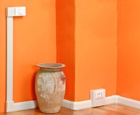 Corrugato e canalina come e quale scegliere elettricasa - Colori cavi elettrici casa ...