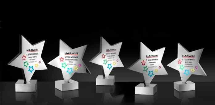 Harwin 5 stars awards