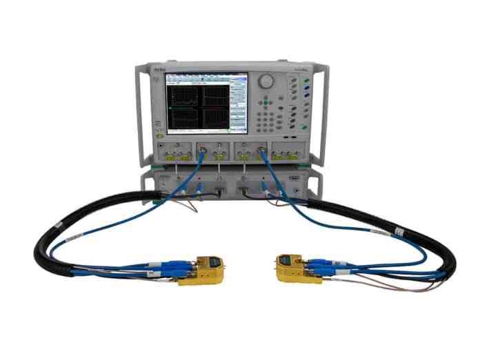 Primo VNA capace di misurazioni da 70 kHz a 220 GHz in una singola scansione