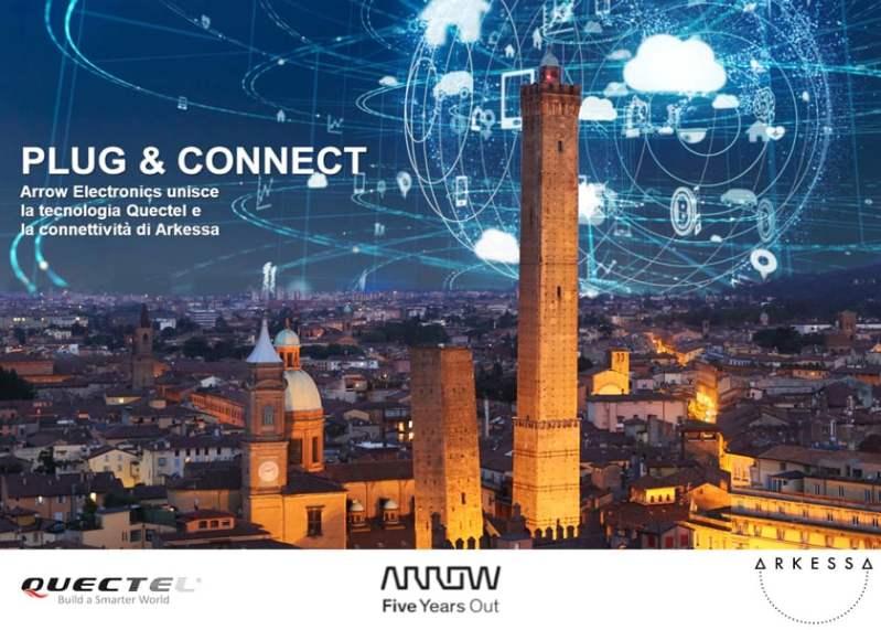 Plug & Connect, seminario Arrow con Quectel e Arkessa
