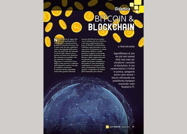 """Bitcoin229-640x457 Rivista #229: """"Bitcoin e Blockchain"""""""