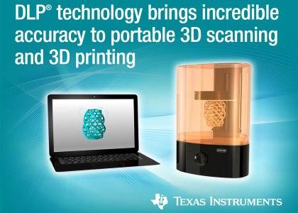 DLPC347x-PR-Graphic-420x300 Nuovi controller DLP Pico migliorano la qualità di scanner e stampanti 3D