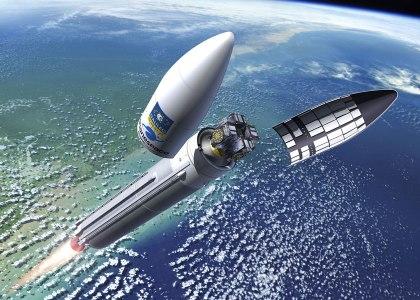 Galileos_atop_Ariane_5-420x300 Galileo a quota 22