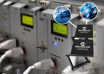 LAN7430_Microchip-420x300 Da Microchip il bridge Ethernet LAN7430/1 che offre nuove opzioni per i progettisti embedded e automotive