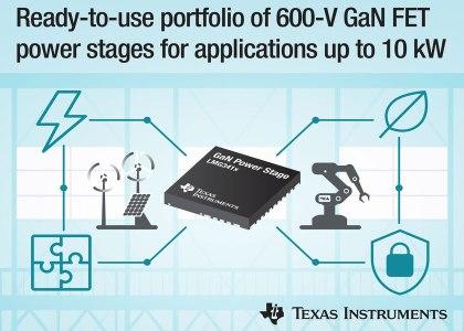 LMG341x-PR-Graphic-420x300 Nuova gamma LMG341x di stadi di potenza GaN da 600 V per applicazioni fino a 10 kW