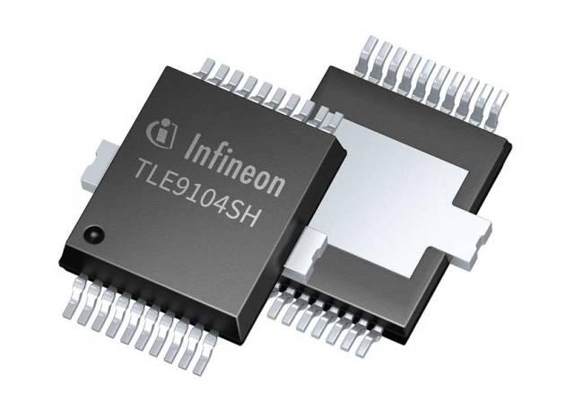 TLE9104SH_Infineon-640x457 Nuovo switch intelligente Infineon per automotive contribuisce a ridurre le emissioni di CO2