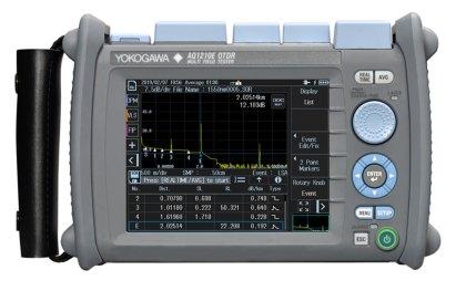 Yokogawa-AQ1210_int-420x263 AQ1210 di Yokogawa per testare rapidamente e con precisione le reti FTTH e FTTA
