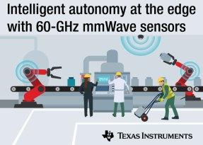 I sensori Edge con tecnologia mmWave consentono di realizzare robot autonomi ancora più intelligenti