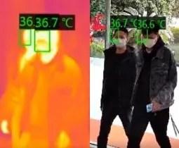 Soluzioni telecamera termica misurazione temperatura corporea