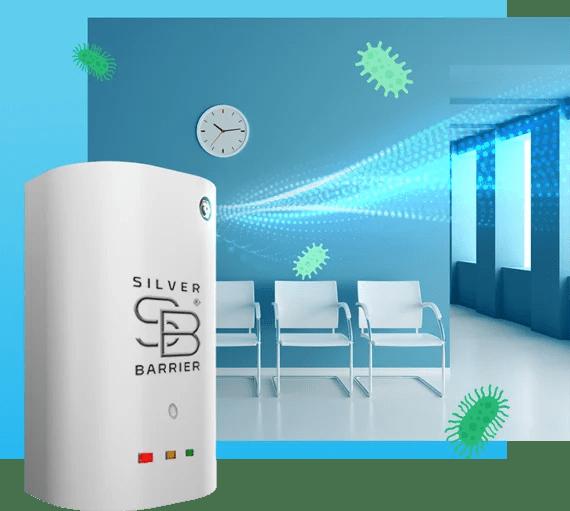 sanificatore ioni argento