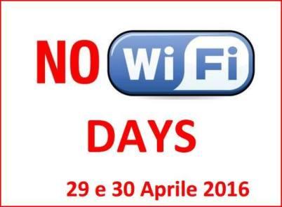 NO WI-FI DAYS - image