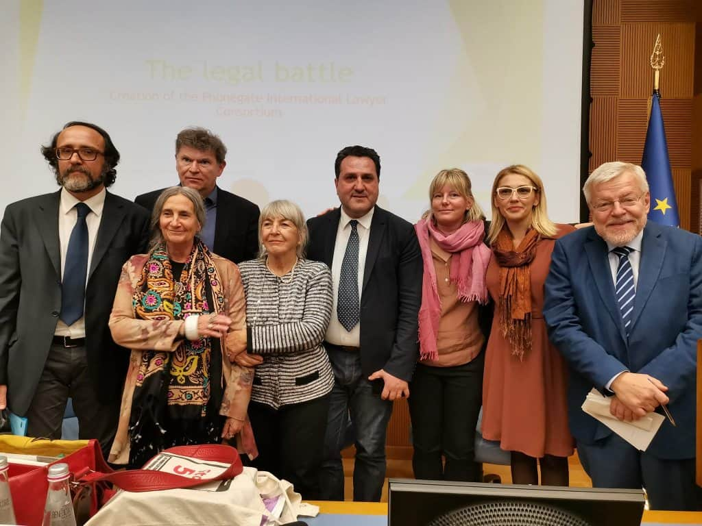 Conferenza internazione camera 5 novembre 2019