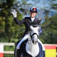 Anne-Sophie SERRE et VISTOSO DE MASSA remportent le CDI3* du CROZET