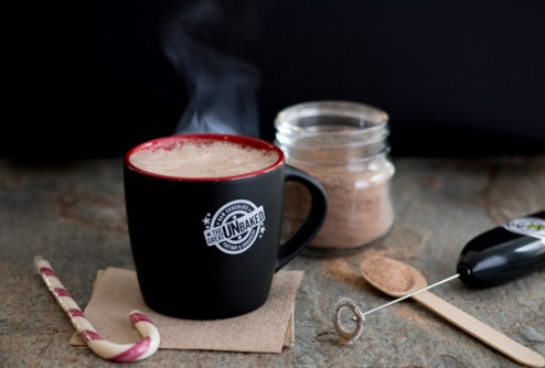 Elevate Creative Product Photography - Hot Chocolate Staged Scene