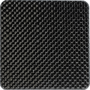 Plain weave carbon fiber flat sheet
