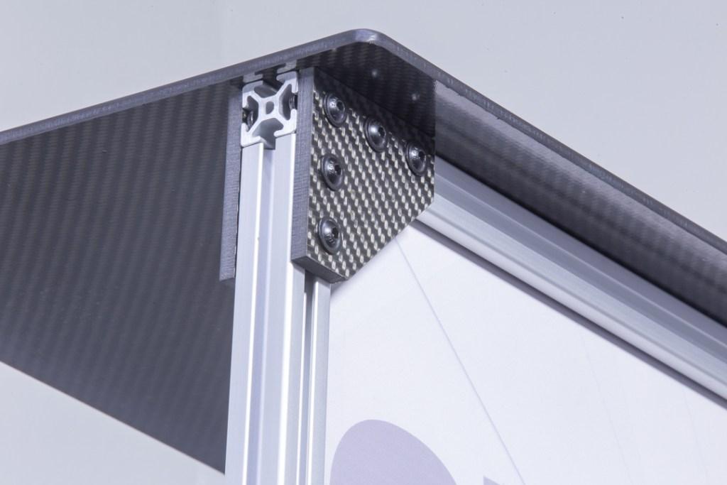Carbon Fiber T Slot connector