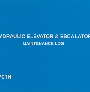 Hydraulic Elevator Logbook