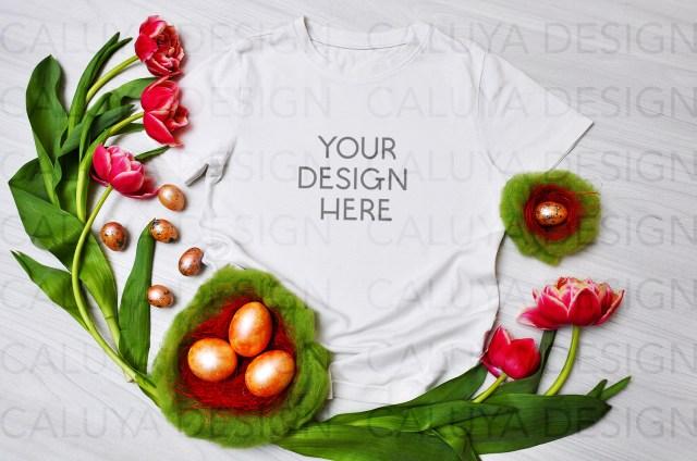 Easter T-Shirt Mockup
