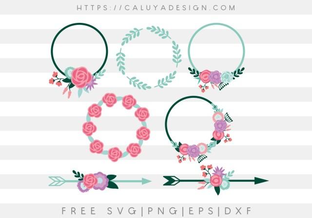 Monogram Wreaths